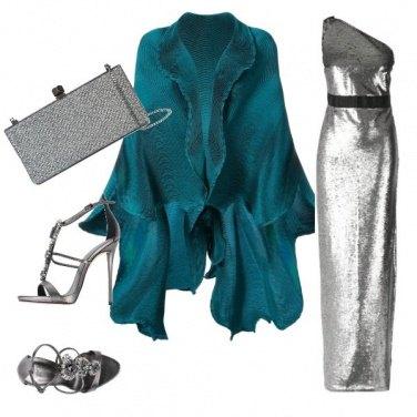 Outfit Blu oceano