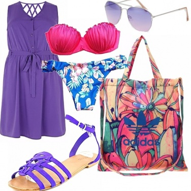 Outfit Al mare, spazio ai colori!