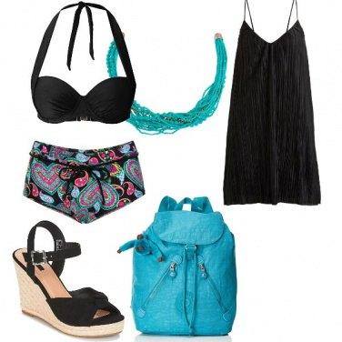 Outfit Al mare con semplicità