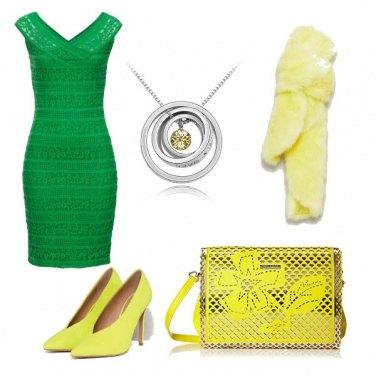 Outfit Cerimonia fluo