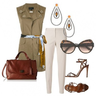 Outfit Safari chic