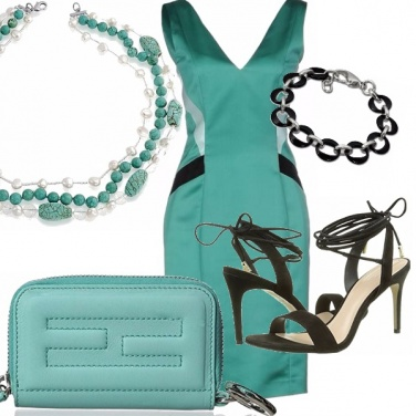 Outfit Green and black