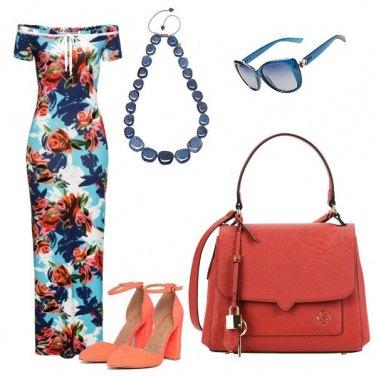 Outfit Rose arancio