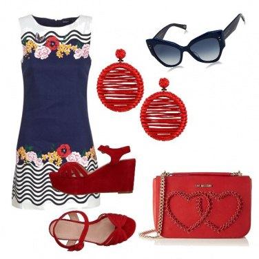 Outfit Bon ton a fiorellini