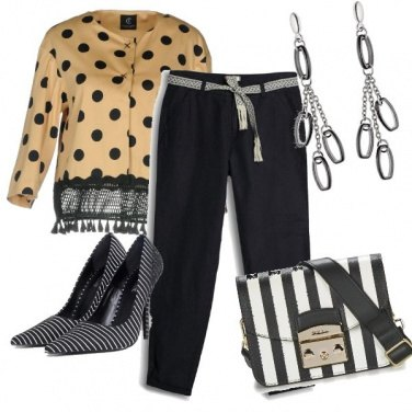Outfit Maxi pois
