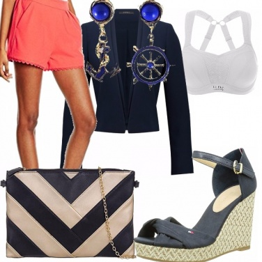 Outfit Elegant navy