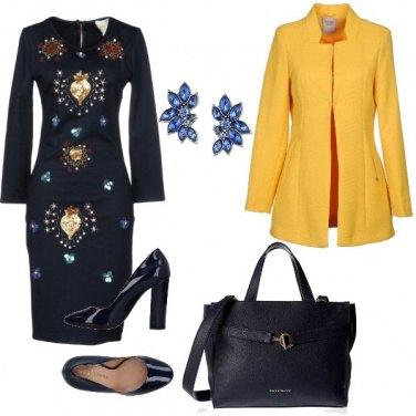 Outfit Il tubino etnico