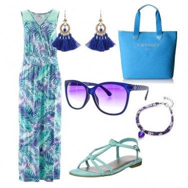 Outfit ....con i colori del mare