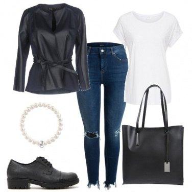 Outfit In bianco e nero per ogni occasione