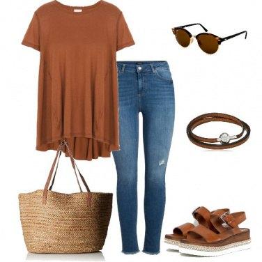 Outfit Il color bruciato