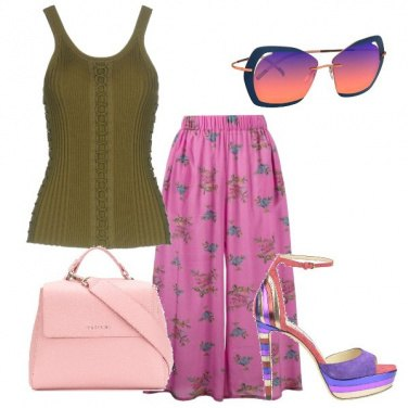 Outfit Tripudio di rosa