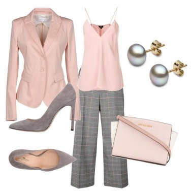 Outfit GreyLightpink