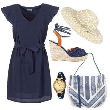 Outfit Blu freschezza