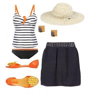 Outfit Tocco d'arancio