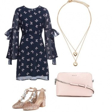 Outfit Aperitivo romantico