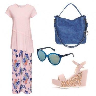 Outfit I pantaloni a fiori