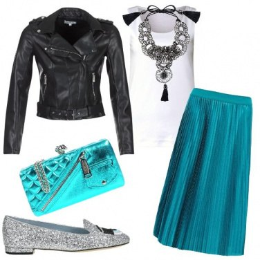 Outfit Rock glamour