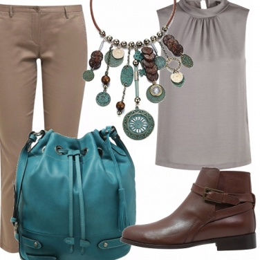 Outfit Collana etnica