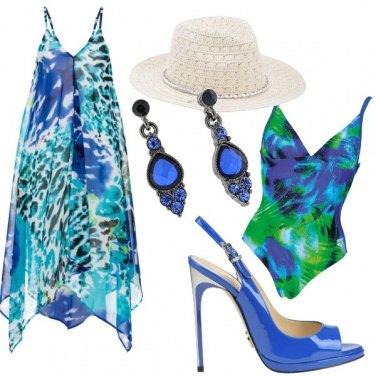 """Outfit Aperitivo a """"spillo """" al mare"""