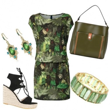 Outfit Jungle style