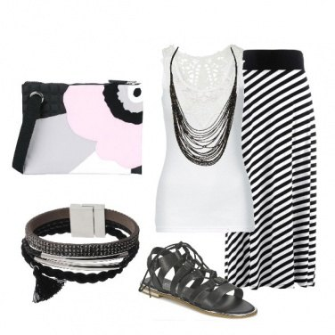 Outfit Black &White
