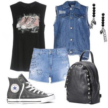 Outfit Rock estivo