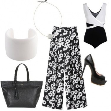 Outfit Margherite bianche