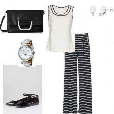 Outfit Bianco e nero!