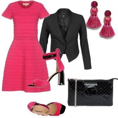 Outfit Serata color block