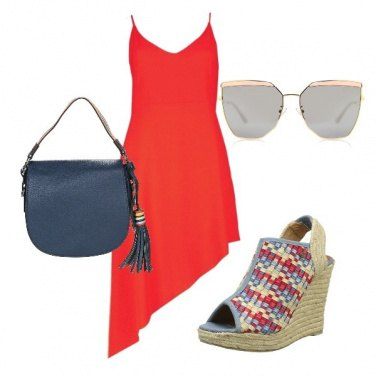 Outfit Abito asimmetrico