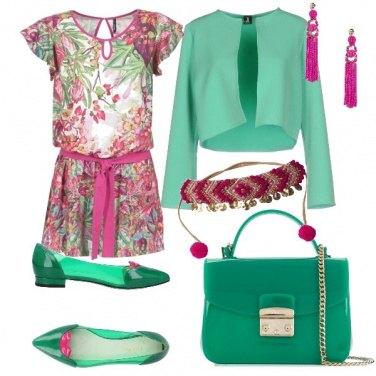 Outfit Verde smeraldo