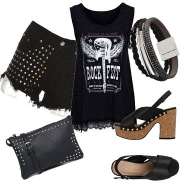 Outfit Sempre Rock