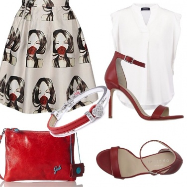 Outfit Rosso d\'esate
