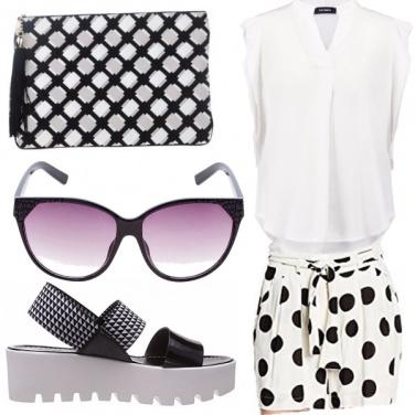 Outfit Pellicola bianco e nero