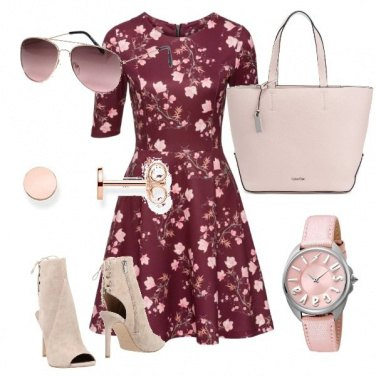 Outfit Flowers in pink
