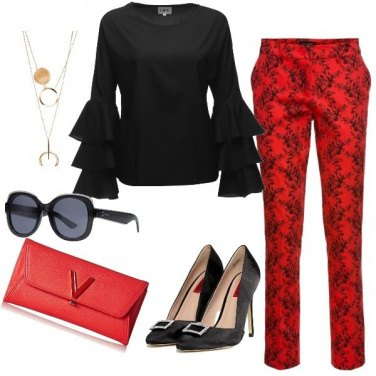 Outfit Red&Black Fantasy
