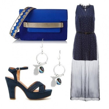 Outfit Notte in blu