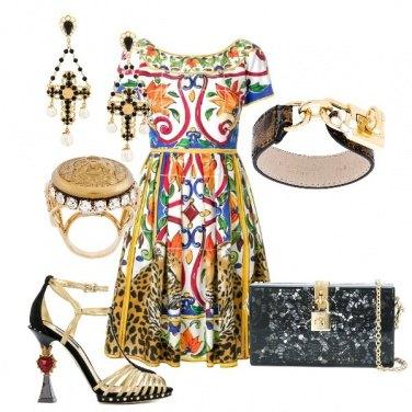 Outfit Puro dolce e gabbana