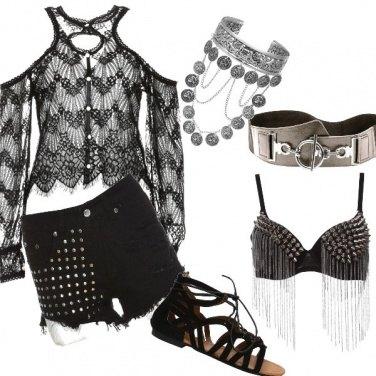 Outfit Rock..con femminilità