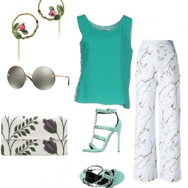 Outfit Tofly_turchese