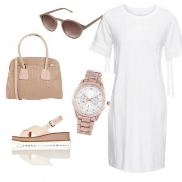 Outfit Colori caldi!