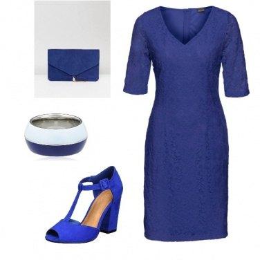 Outfit Blu nella notte!