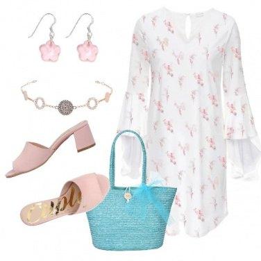 Outfit Passeggiata romantica sul lungomare