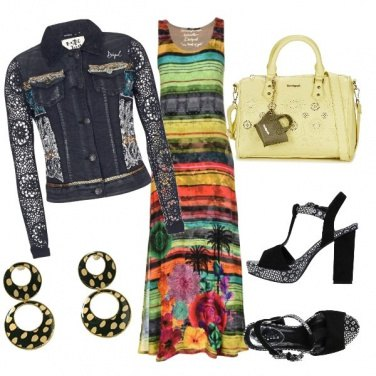 Outfit Desigual style