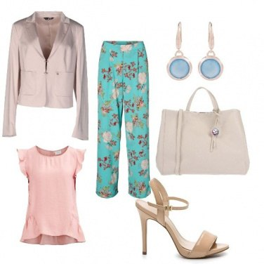 Outfit Fiorato chic