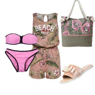 Outfit A mare...rosa con stile