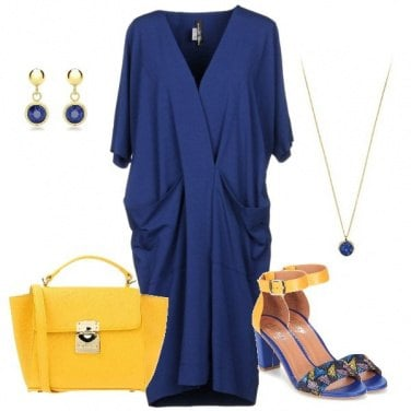 Outfit Blue&Yellow