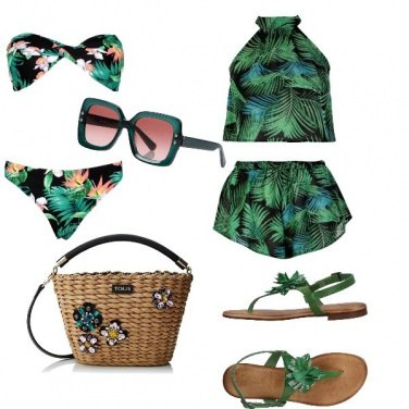 Outfit In spiaggia super chic