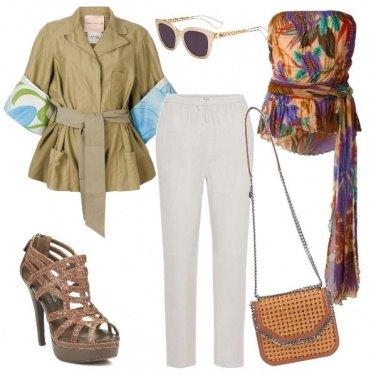 Outfit Safari style