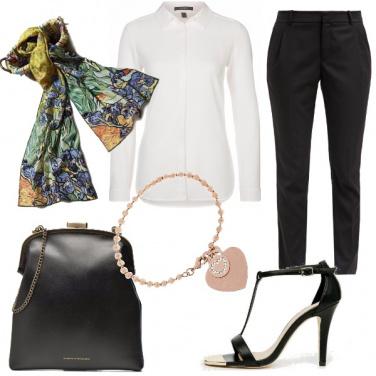 Outfit Eleganza di colori